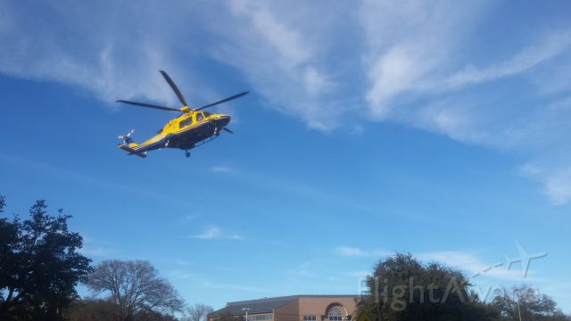 AGUSTAWESTLAND AW-169 (N309TC) - Flying into Shannon Medical Center, San Angelo, Texas.