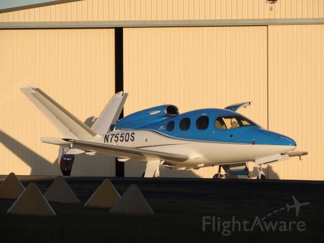 Cirrus Vision SF50 (N755DS) - the beast rocked up to Bankstown airport the other day