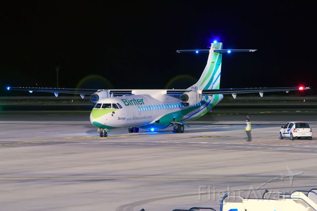 ATR ATR-72 (EC-KGI) - TENERIFE SUR<br />25/08/2013