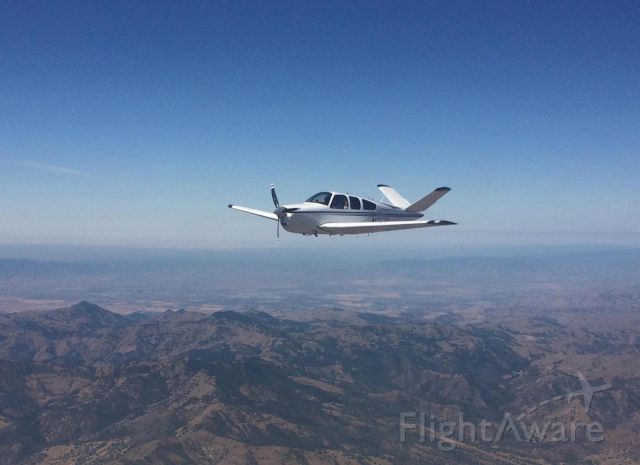 Beechcraft 35 Bonanza (N35XL) - Five-X-ray-Lima enroute to L45 @ 7,500ft.