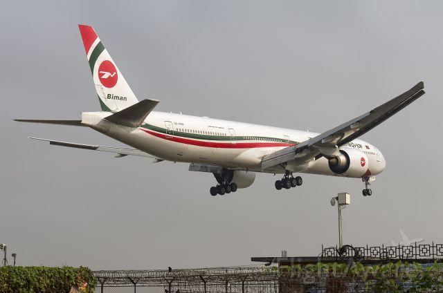 BOEING 777-300 (S2-AHN) - 29th Dec., 2018