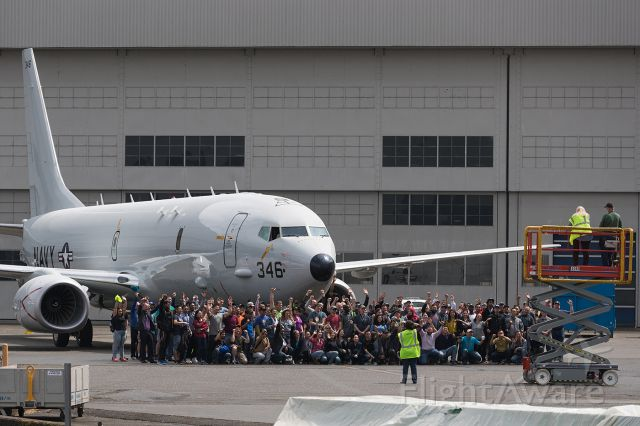 16-9346 — - The 100th P8 ever produced.