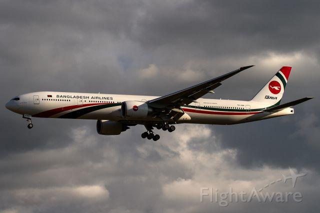 BOEING 777-300 (S2-AHN) - new in Frankfurt
