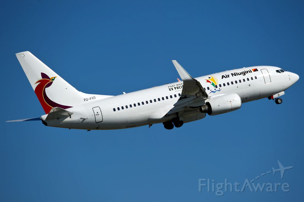 Boeing 737-800 (P2-PXD)