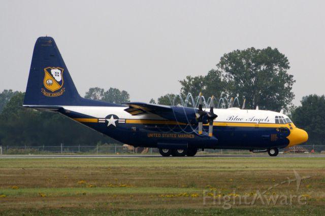 Lockheed C-130 Hercules — - Blue Angels Fat Albert