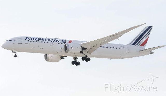 Boeing 787-8 (F-HRBC) - Air France 378 landing 21L via the TPGUN1 approach (4/6/19)