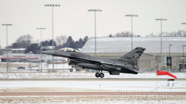 Lockheed F-16 Fighting Falcon (88485) - #88-485 (F-16C Block 40)<br />South Dakota Air National Guard 114th Fighter Wing / 175th Fighter Squadron