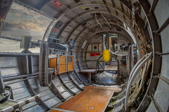 Boeing B-17 Flying Fortress — - The Boeing B-17 Flying Fortress and the  right and left Waist Gunner's Perch.