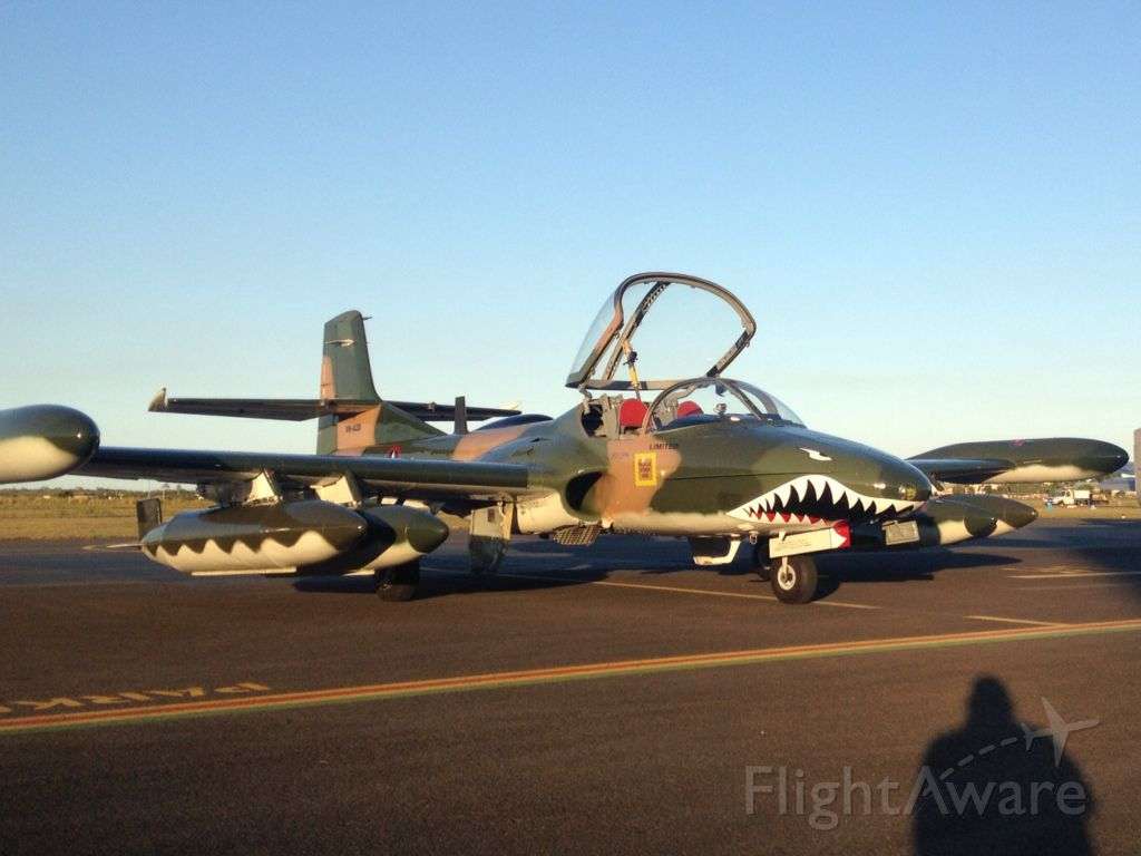 VH-AZD — - The first outing of the new Dragon paint scheme....... at the RAAA Convention