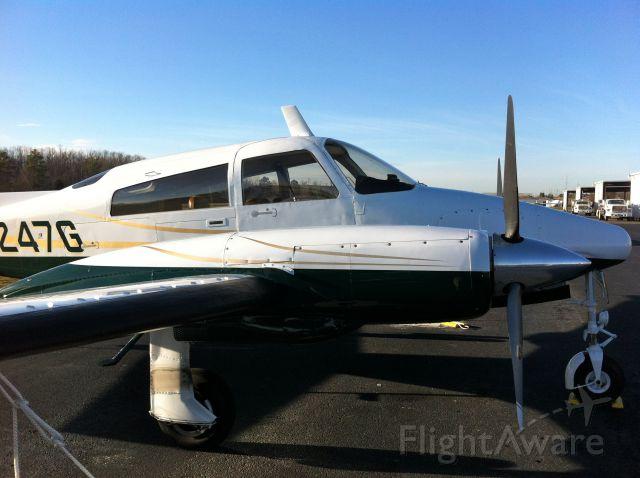 Cessna 310 (N1247G) - Seen at KEET