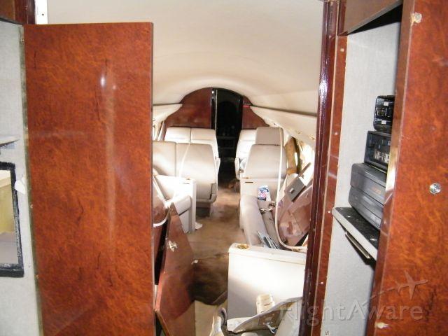 Gulfstream American Gulfstream 2 (N671LW) - Cabin is trashed.