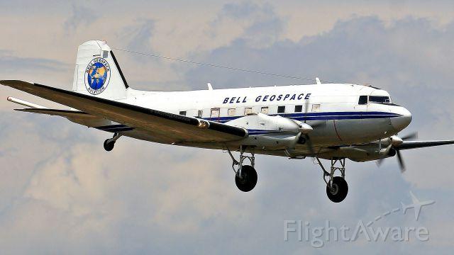 Douglas DC-3 (turbine) (C-FTGI) - just in-time...or miss it
