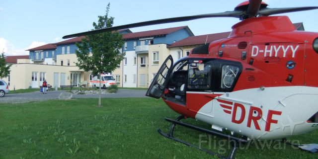 Eurocopter EC-635 (D-HYYY) - fall in nursing home  , EC-H135 rescue helicopter ,  (DRF)
