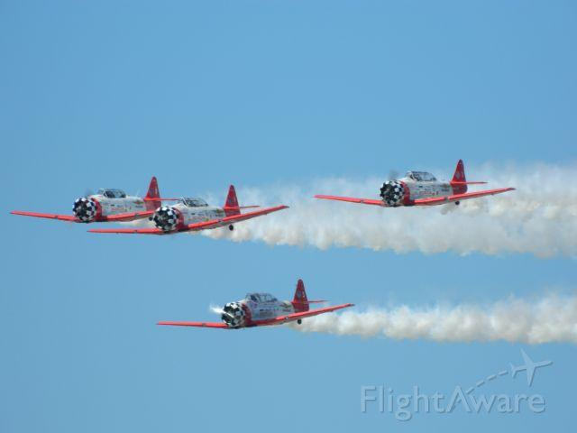 North American T-6 Texan — - Team Aeroshell