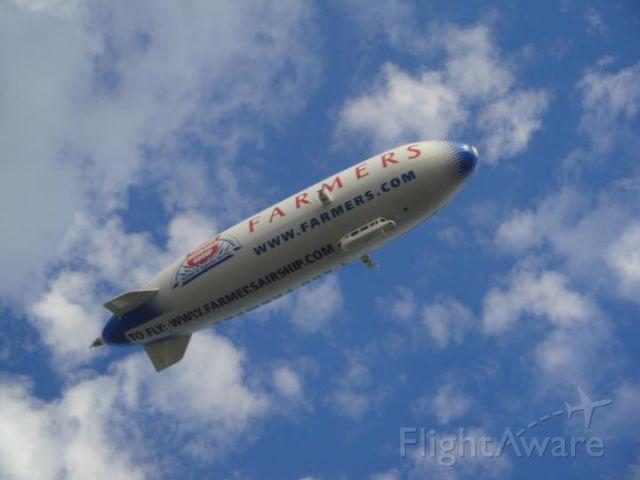 N704LZ — - Airship Ventures Zeppellin @ Indiana State Fair.  Photo taken by: Maranda Anderson
