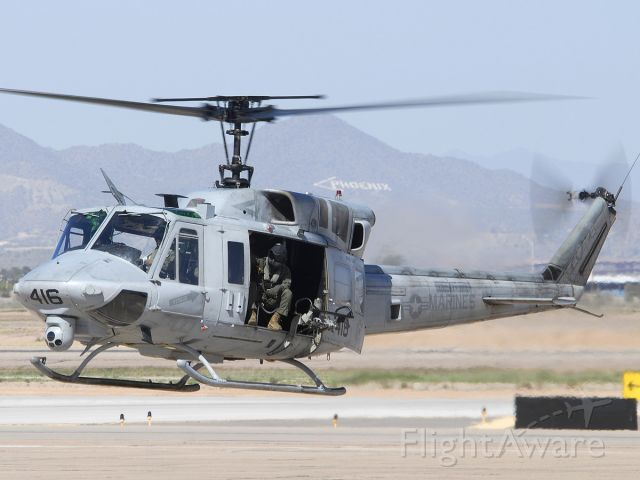 15-8559 — - Marine Corps Bell UH-1N Huey BuNo 158559 #416 of HMLAT-303 based at Camp Pendleton, California.