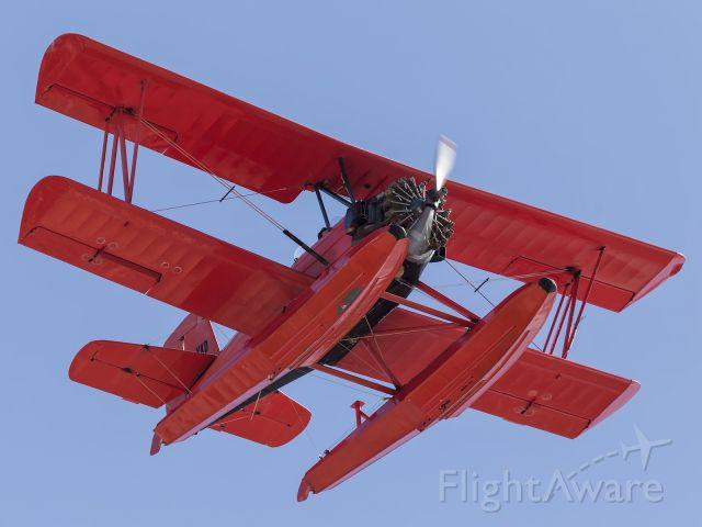 — — - The Red Baron, Grumman Seacat is back in Townsville, having returned from Perth, Western Australia, after what turned out to be a short visit.