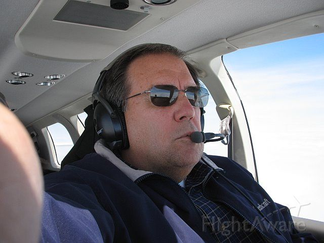 Beechcraft Bonanza (36) (N836CF) - Flying back to JYO -- June 2008