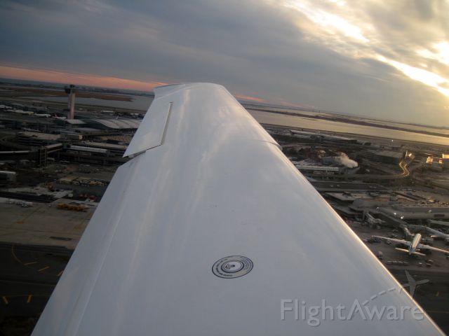 Cirrus SR-20 (N159PG) - I just departed JFK Rwy 31R flying the Kennedy One Departure, Idlewild Climb.