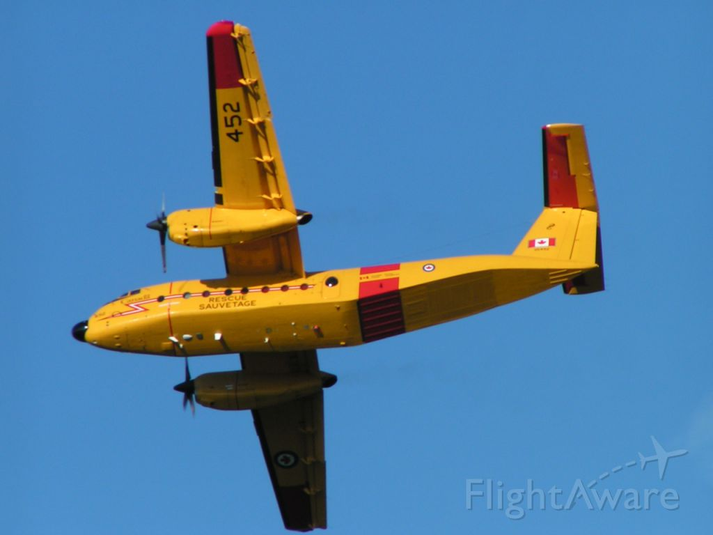 11-5452 — - A De Havilland Canada CC-115 Buffalo at Rocky Mountain House Air Show 2006