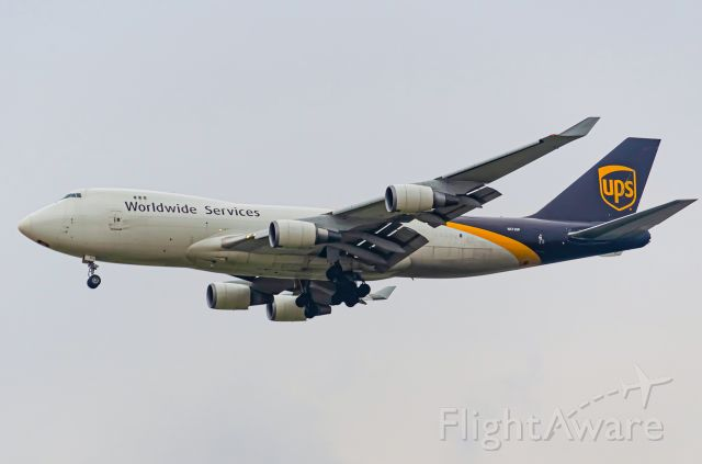 Boeing 747-400 (N572UP) - Thanks for view and give me 5 star please