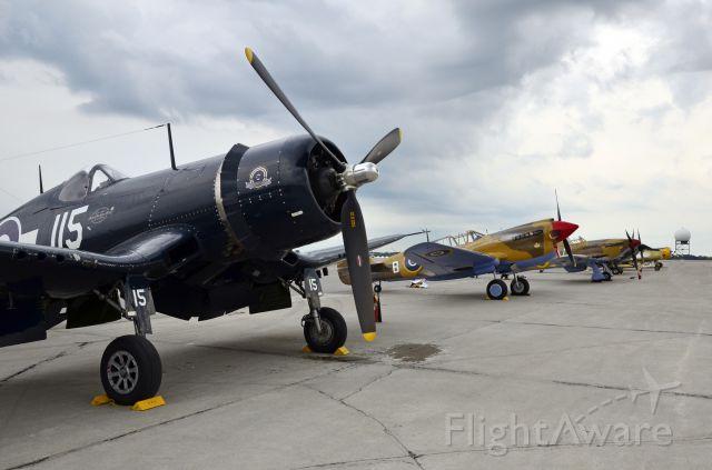 VOUGHT-SIKORSKY V-166 Corsair — - Canadian Warplame Heritage Airshow