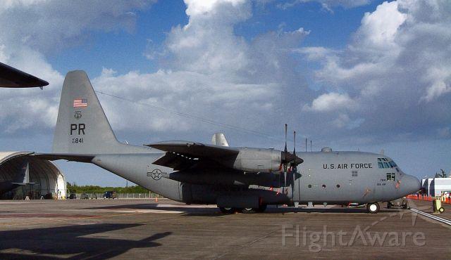 Lockheed C-130 Hercules (63-7841) - C-130E 156AW, PR ANG; 1/10/2003