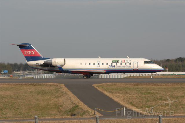 Canadair Regional Jet CRJ-200 (JA03RJ) - Taxing at Narita Intl Airport on 2007/1/1