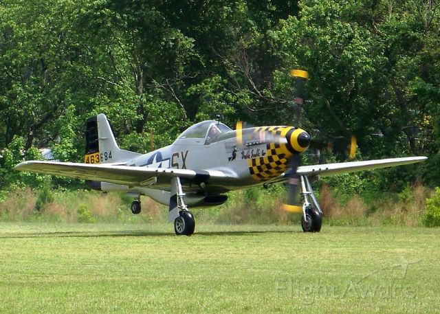 North American P-51 Mustang (N51EA) - This is the REAL N51EA.  The other two pictures that are claiming to have this tail number on here are actually of N7TF, which began sporting DD2