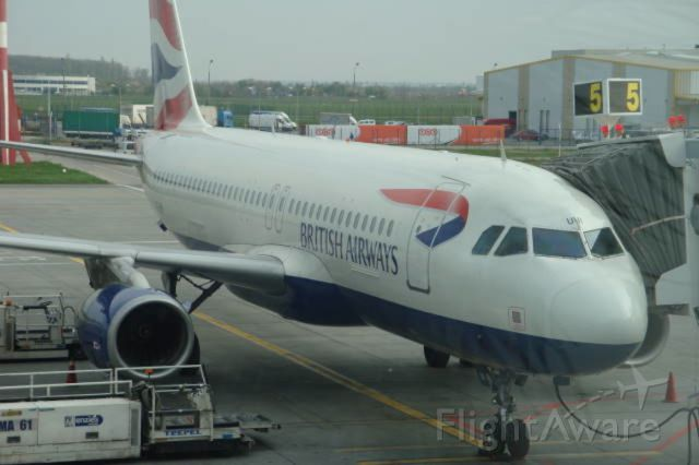 Airbus A320 — - This was from Otopeni Airport in Bucharest, Romania to Heathrow Airport in London, UK.