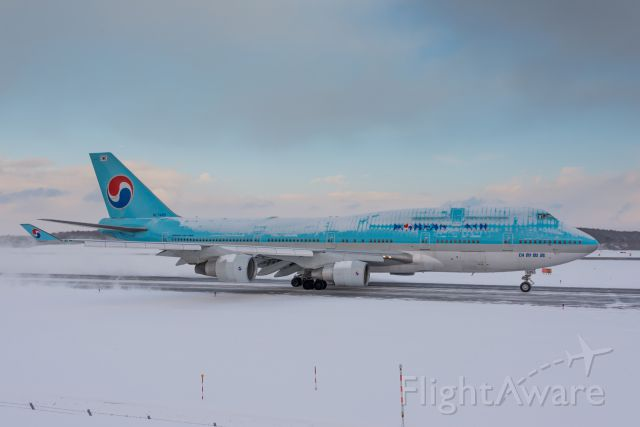 Boeing 747-400 (HL7489)