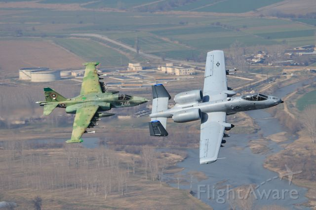 Fairchild-Republic Thunderbolt 2 (78-0621) - Tankhunters from both sides of the iron curtain now working together.