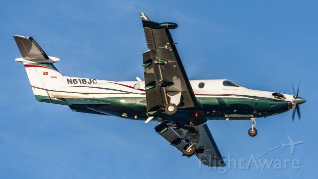 Pilatus PC-12 (N618JC)