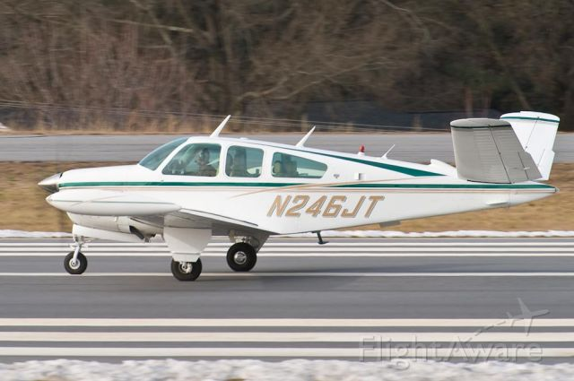 Beechcraft 35 Bonanza (N246JT) - 12/30/09