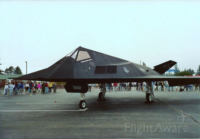 Lockheed Nighthawk — - Abbotsford Air Show August 1991