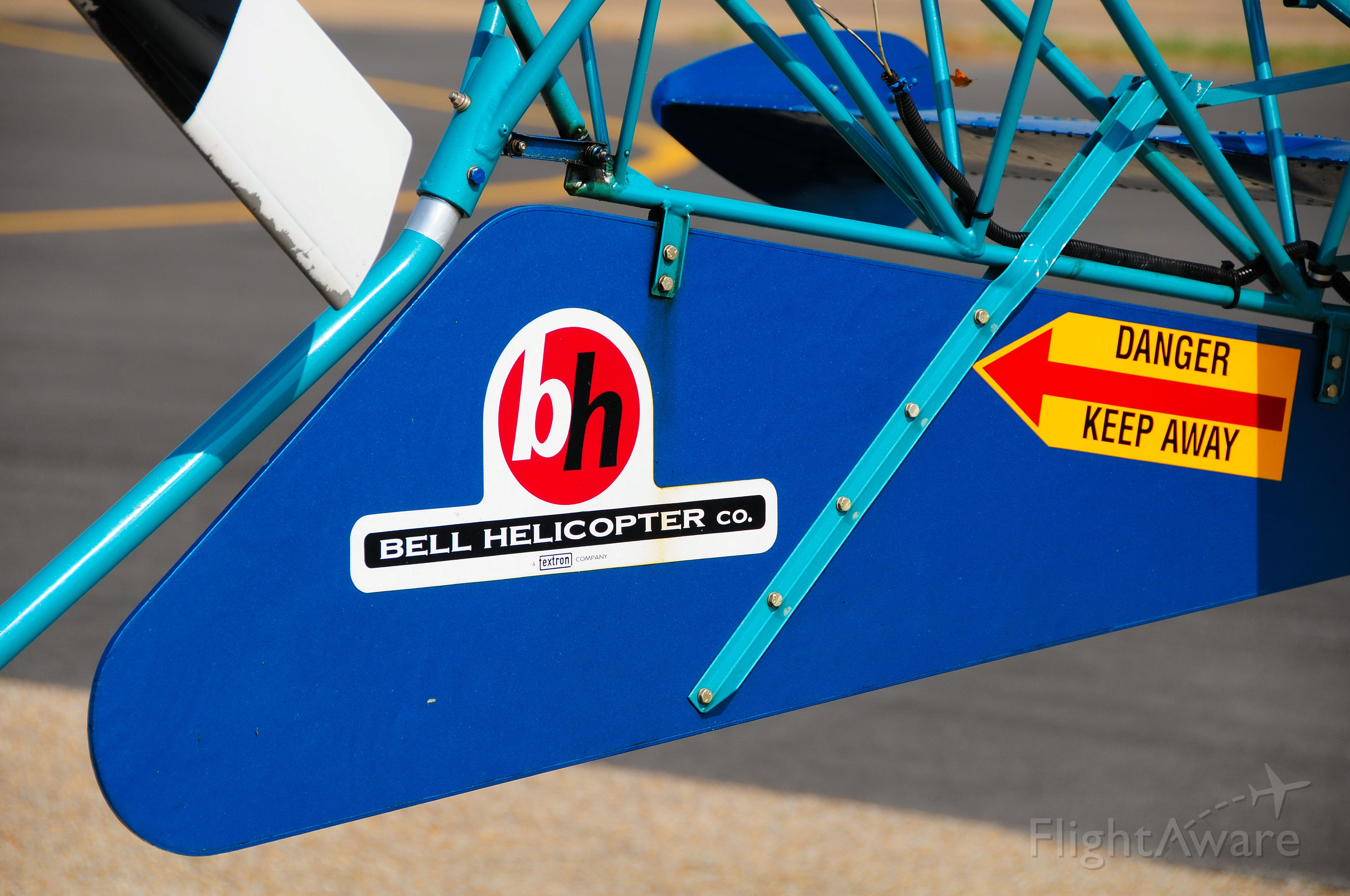 N3096 — - Blue Thunder. A close-up of tail.