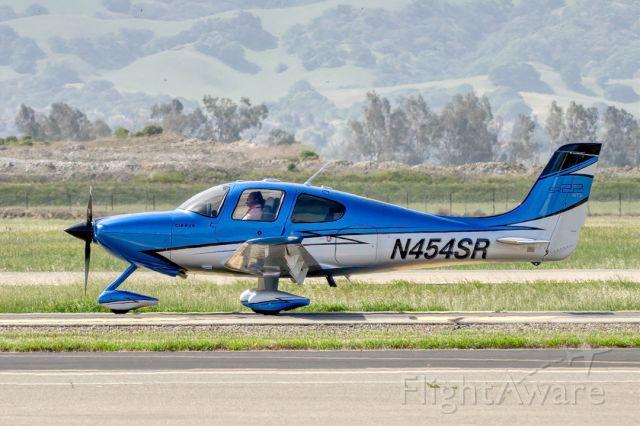Cirrus SR-22 (N454SR) - Cirrus SR22 at Livermore Municipal Airport (CA). April 2021