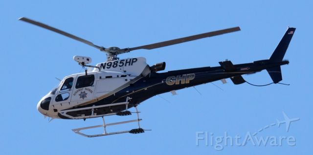 Eurocopter AS-350 AStar (N985HP) - Lone Pine, California.  July 19, 2020