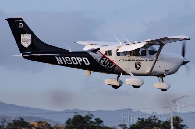 Cessna 206 Stationair (N190PD)