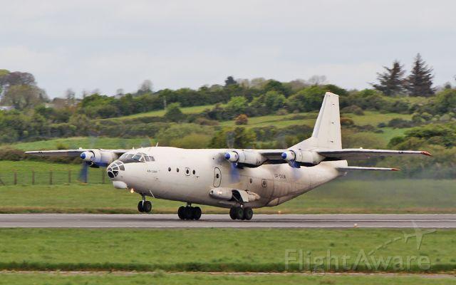 Antonov An-12 (UR-CKM) - cavok air an-12bp ur-ckm dep shannon 7/5/18.