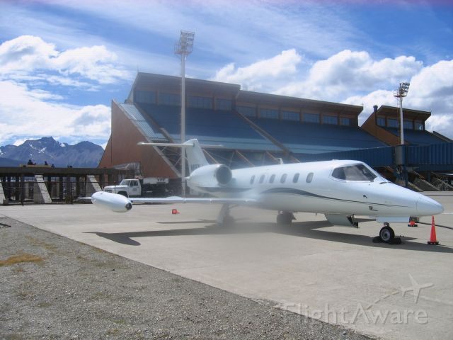 Learjet 35 (N66NJ) - Ushuaia, Argentina.  Worlds most southern city. Last airport before Antartica.