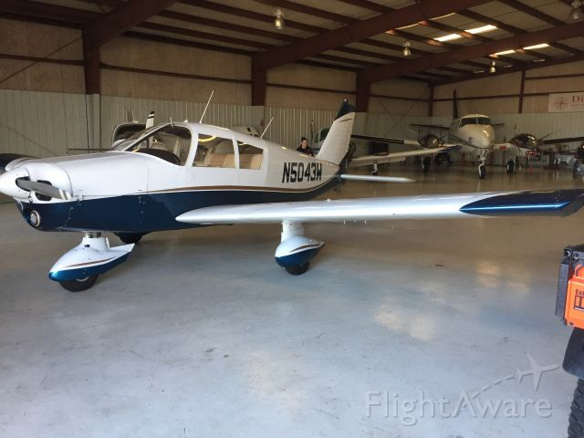 Piper Cherokee (N5043W)