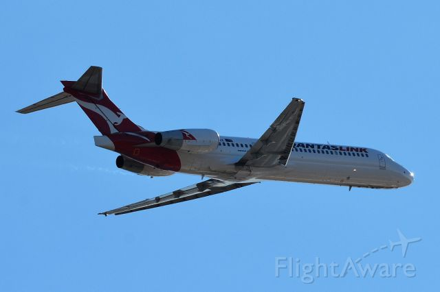 VH-YQX — - VH-YQX QantasLink Boeing 717-2K9 16 / 07 / 2017
