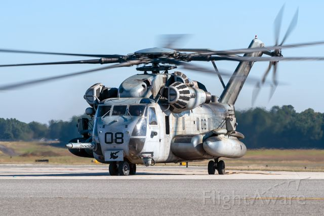 16-2010 — - Fresh out of depot maintenance, this HMH-366 Super Stallion made a quick stop at East Texas Regional on it's way back home to Marine Corps Air Station New River in North Carolina.