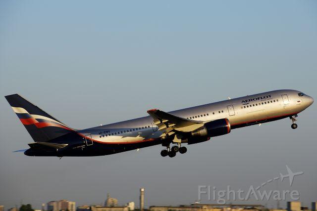 VP-BWV — - Aeroflot Boeing 767-3T7ER VP-BWV at Toronto