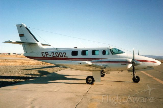 Cessna T303 Crusader (CP-2002) - Seen here on 9-Jul-93.  Reregistered N64WA 28-May-96.