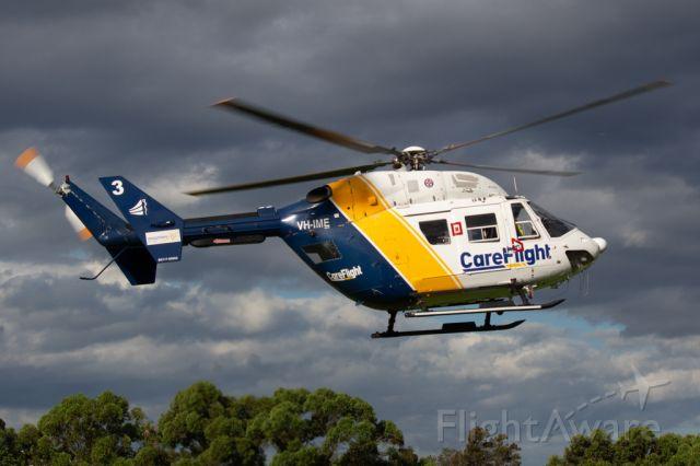 NUSANTARA NBK-117 (VH-IME) - Seen here at football oval in West Sydney