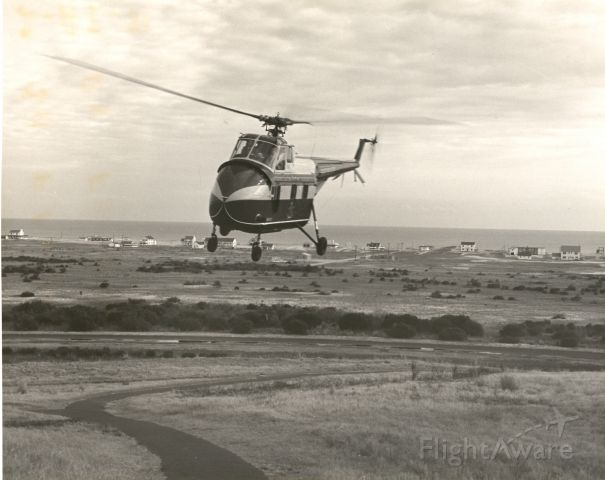 C-FFBW — - Sikorsky S-55 in flight at unknown location - early 1950s.
