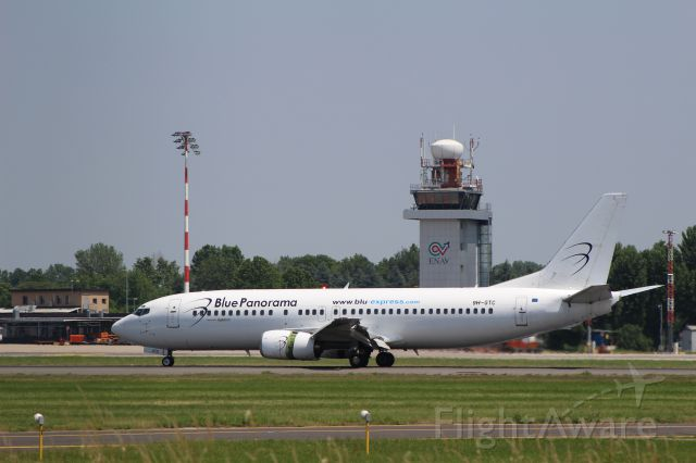 Boeing 737-700 (9H-GTC) - WHITE COLOURS AT LINATE 27-05-2017