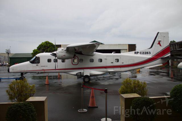 RP-C2283 — - Vlucht van Manila naar El Nido, Palawan, Filipijnen met ITI (island transvoyager inc.) September 2014